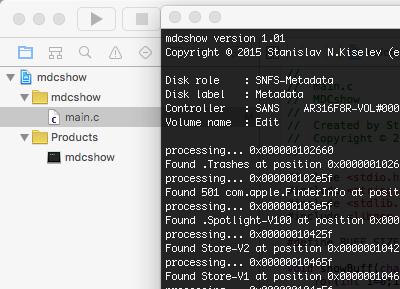 MacOS App: MDC Show